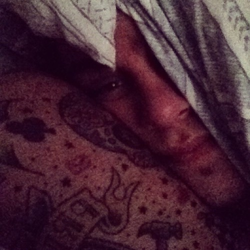 I don't wanna get up to revise 😞  (Taken with Instagram at Home)