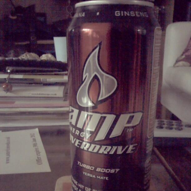 Lacking some 'go'? Get AMP Energy drinks from American Soda.