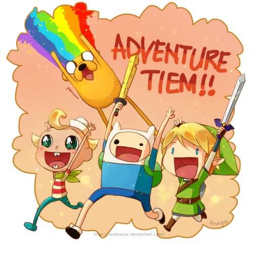 ADVENTURE TIEM by *anokazue. Follow Cartoon Network!