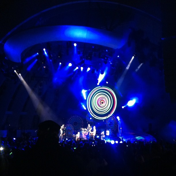 #coldplay (Taken with instagram)