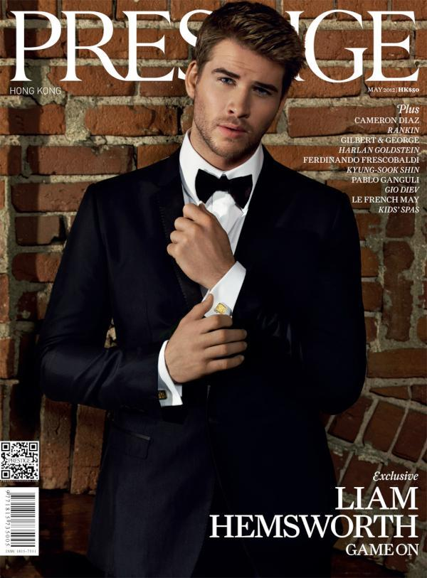 dolcegabbana:  Liam Hemsworth in Dolce&Gabbana covers Prestige Hong Kong, May 2012