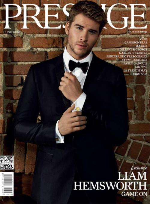 dolcegabbana:  Liam Hemsworth in Dolce&Gabbana covers Prestige Hong Kong, May 2012 So amazing!