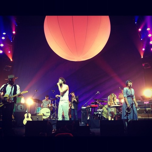 Edward Sharpe @ The Fox Theater (Taken with instagram)