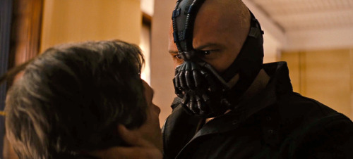 """What are you?"" ""I'm Gotham's reckoning…"" The Dark Knight Rises… this July."