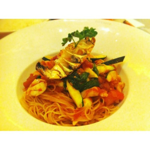 Lobster Angel Hair #food #macau #lobster (Taken with instagram)