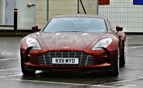 Aston Martin One-77. Photo by Hipwell Photography (via)