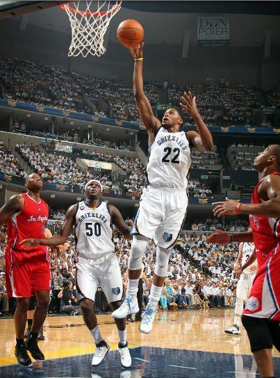 Rnd 1, Game 2: LAC 98@ MEM 105 Rudy Gay scores 21 pts to reach his first, personal, playoff win kcrossover