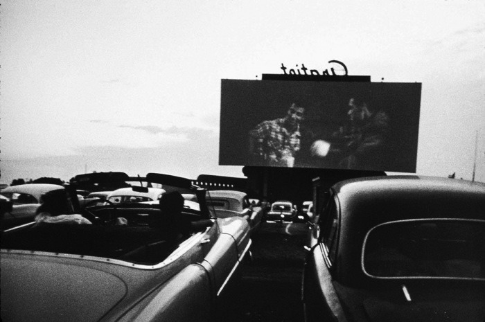 Buicks and Drive-Ins -Detroit, 1955Robert Frank