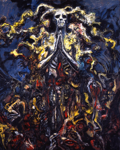 Carrion's Ressurection From Abarat 3, page 183 by *CliveBarker