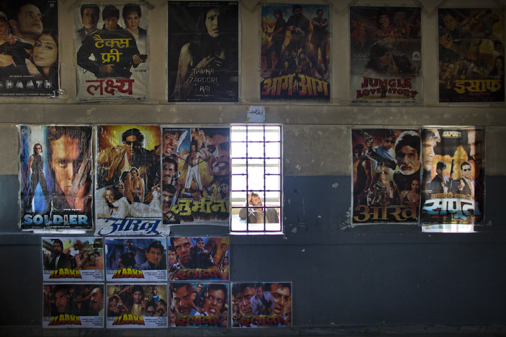 Bollywood posters at a movie theater in Kabul. Photo: Jonathan Saruk The war in Afghanistan is not over. Help us tell the story. Fund our Kickstarter.