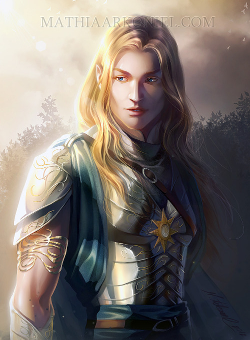 heartisenheart:  (commission) Glorfindel by arkoniel