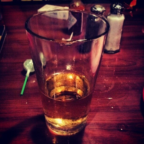 #happybirthdaytome #beer #yum (Taken with instagram)