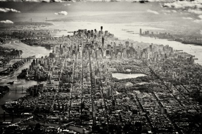 High over NYC by Matthew Carbone