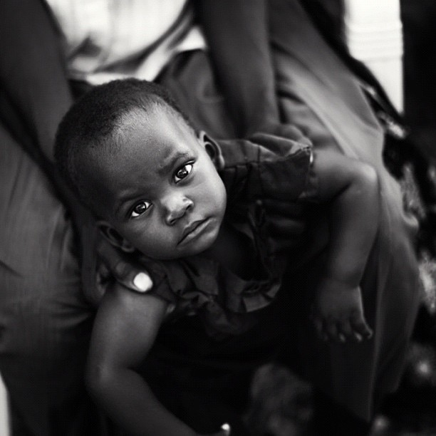 Clinic Baby (Leica M9 w/IG Lo-fi) #portraits #kenya #ismsoperationkids #medicalmission #clinic #farms  (Taken with Instagram at Sio Port, Kenya)
