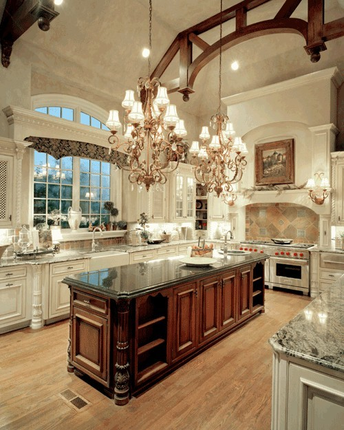 southern-dreamer:  Now THAT is a kitchen…wow  I would cook and bake all day long.