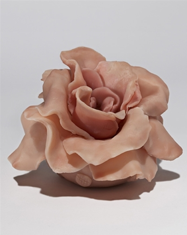 Feinstein's Rose for Creative Time This is an exciting opportunity to own a limited edition platinum silicone piece, one of only a few small-scale sculptures by Rachel Feinstein, as well as support Creative Time's groundbreaking initiatives.
