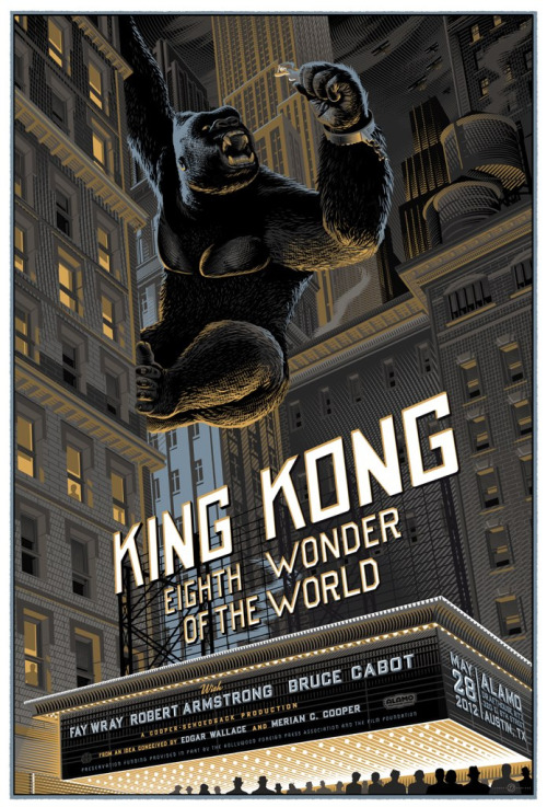 robotcosmonaut:  King Kong via freevo  You'd think King Kong would be more of a thing for me, especially the Jeff Bridges version.Maybe I should do a marathon of sorts.