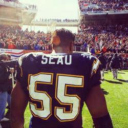 RIP San Diego staple Junior Seau. You will be missed.  Suicide is no joke.