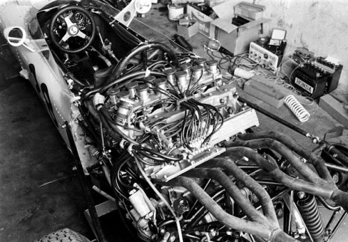 Honda RA271 Engine at Monza 1964