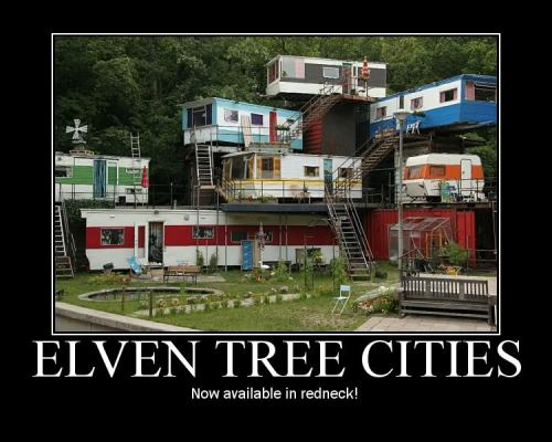 onlydraven:  Elven Tree Cities