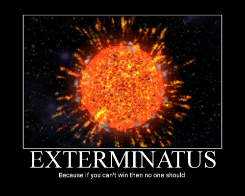 ddemotivators:  Exterminatus posted by Razgriez