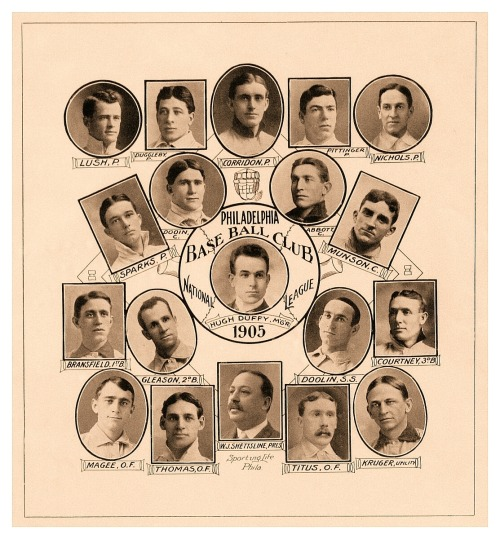 1905 Philadelphia Phillies Team Composite How the Phillies looked 107 years ago…