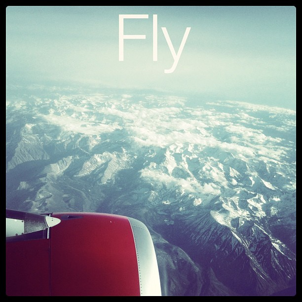 #travel #sky #fly #jet #landscape #mountains #nature #type #graphicdesign @virginamerica  (Taken with instagram)