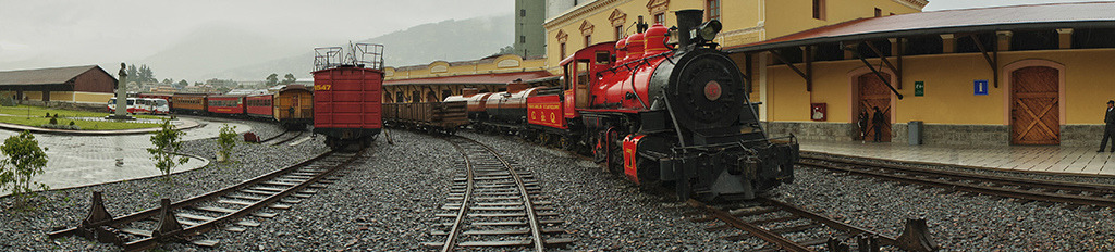 estación de trenes de chimbacalle on Flickr.