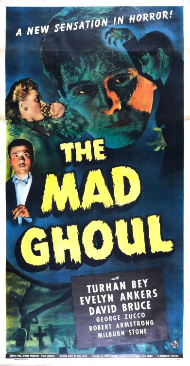 classichorror: The Mad Ghoul (1943)