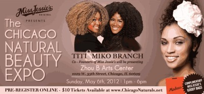 Natural Beauty Expo Chicago May 6, 2012
