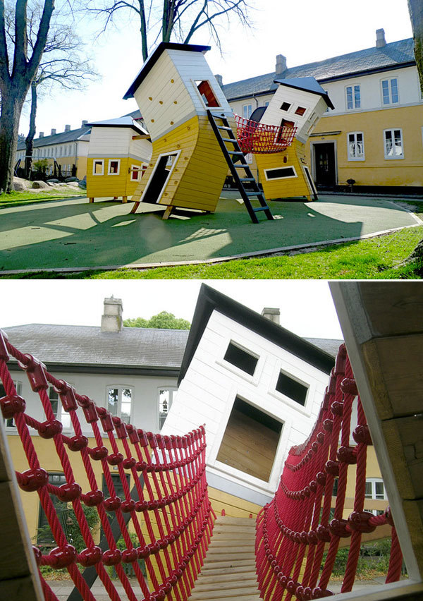 The kids for whom these playgrounds are their neighborhood playgrounds are so lucky.