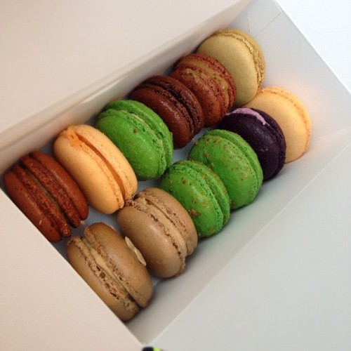 Oh Teresa. #macarons (Taken with instagram)
