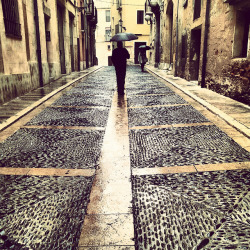 Tarragona rain #2 by sandswimmer on Flickr.