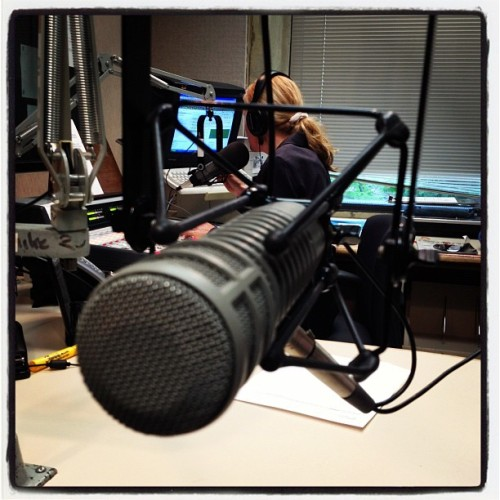 On Air. #WGVU #ShelleyIrwin (Taken with Instagram at WGVU Public Media)