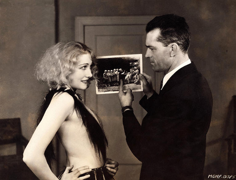 yousaywah:  Edwina Booth with director W.S. Van Dyke