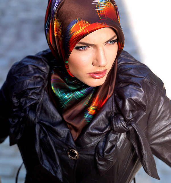 A common misconception I've encountered is that the hijab or Muslim veil is restrictive and hinders women. I confess that I used to think this way before my dad was assigned to Egypt. But during my holidays in Cairo, I realized that being veiled (at least in more liberal Egypt) is a personal religious decision and certainly doesn't stop a woman from showing off her flair and style. I actually think that pulling off a veiled look shows just how creative a girl can be with her outfit. Egyptians (especially those from the more modern middle-upper class) usually have the freedom to choose, and I've met equal mixes of Cairenes with fabulously flowing hair and those who chose to be veiled. These women were bright, intelligent individuals who dressed the way they wanted. Read more on how I discovered girl power in the Middle East.  (Photo links to photographer)