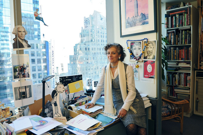 "Blowing Covers with Françoise Mouly, Art Editor of the New Yorker It isn't every day you get to interview Robert Crumb–but back in October, I spoke with the legendary comic artist for VICE about his gay marriage New Yorker cover, which was pulled before print. Crumb said New Yorker art editor Françoise Mouly and top editor David Remnick didn't give him a clear reason as to why. In response, Crumb created a manifesto-type bookmark that was inserted into the Danish Pavilion catalogue (the theme of the show was censorship), at the Venice Biennale, where I found it. When I asked him about this, he said he'd never work for the New Yorker again if they weren't going to spell out the criteria for why they accept or reject art. A few months after the article came out, Mouly announced that she would be publishing a book called Blown Covers: New Yorker Covers You Were Never Meant to See. Right. Mouly's book came out on Monday. While there have been some good New Yorker covers, to me, the book is basically a guide to where the be-all, end-all magazine pussied out on controversial, crazy, funny, and over-the top (their words: ""ahead of their time"") artwork, now gathered together for purchase. Oh yeah, there's a website too. Mouly took some time out of her day at the New Yorker office to talk about R. Crumb, why his gay marriage cover was outdated, and why working with artists is like being a kindergarten teacher.   VICE: My name is Nadja, I write for VICE and I have the same name as your daughter.Françoise Mouly: Yes! At one point she was going over my emails and said it's so seldom she sees the name of other Nadja's. Do you have any reason why you were named Nadja? I changed my name to Nadja (from Nadia) after reading the book Nadja by Andre Breton.I have read the book. I didn't love the book but I loved the name. I thought, ""If I ever have a kid and I have a daughter… that's a good name."" Something about the cover of Nadja by Andre Breton–I judged the book by its cover, and to me, the cover sells the book. And now you're doing a book called Blown Covers.Right. You are the cover editor and the art director of the New Yorker? Just to get it right…You'll never get it right because the New Yorker just doesn't do things the way everybody else does. I'm the art editor meaning I am in charge of the artists who provide content. It's the cover, and it can also be comic strips or single pictures inside. The New Yorker, at the core, especially when it was created in 1925, was a humor magazine, bringing together artists and writers. We don't call our artists illustrators—they are artists and I am the art editor. Is it true that inside the cover editor's office, you notice that the walls are covered with rejected New Yorker covers? [Laughs] Like everything, it has a core of truth. My walls are covered with the sketches that the artists send me. Some will never see the light of day, just make me laugh, and others will be the building block of the right cover at the right time as things shift and move. We have an infrastructure of evergreen covers, a few images that deal with spring, weddings, that deal with the calendar. We are ready at the drop of the hat for political or newsy and it's an unpredictable pattern. Some are not so much rejected as, ""We haven't found the right thing yet."" Continue reading"