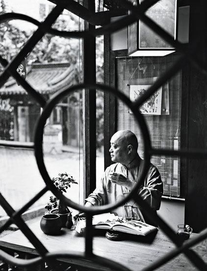 Secret Shanghai | Shanxi Kuo in his Gu Yuan Antique Tea House