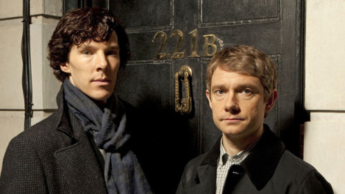 "#sherlock nprfreshair:  ""I have to say, brilliant though they all were, the moment Benedict and Martin were in the same room, you just thought, 'There it is.' I remember saying, 'That's the show right there. That's the show we got.'"" — Steven Moffat [complete interview here] (via Steven Moffat: The Man Who Revitalized 'Doctor Who' And 'Sherlock' : NPR)"