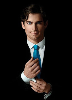Neal Caffrey(Matt Bomer) from White Collar. Love this show. Can't wait for this summer.