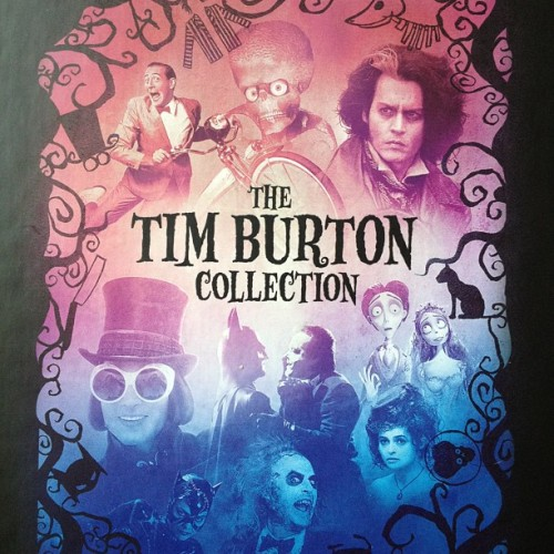Tim Burton collection on blu ray :)