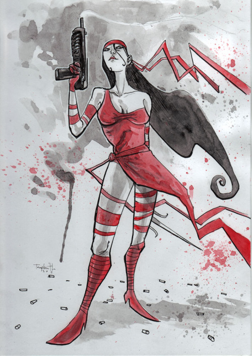 Elektra (by Ben Templesmith)