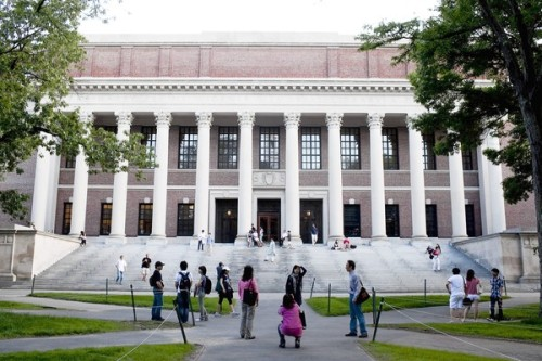 Harvard, MIT partner to offer free online courses: Harvard and MIT are donating $30 million each to develop education via the Internet. Online students will not earn credit, but the move is still seen as bringing prestige to the field. Photo: Harvard University. Credit: Kelvin Ma / Bloomberg