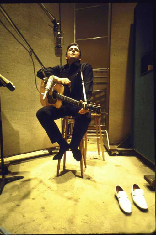 Johnny Cash, 1969. By: Michael Rougier