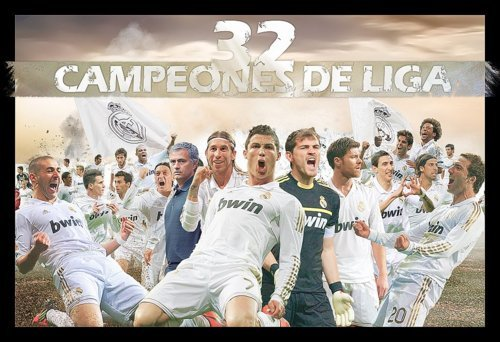 ¡Hala Madrid!  ¡Hala Madrid! Himno del Real Madrid F.C. 32 LIGAS