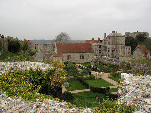 Carisbrooke Castle - Interior - From South wall (by silverlutra)