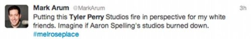 The Best Tweets About Tyler Perry's Studio Fire [click for more]