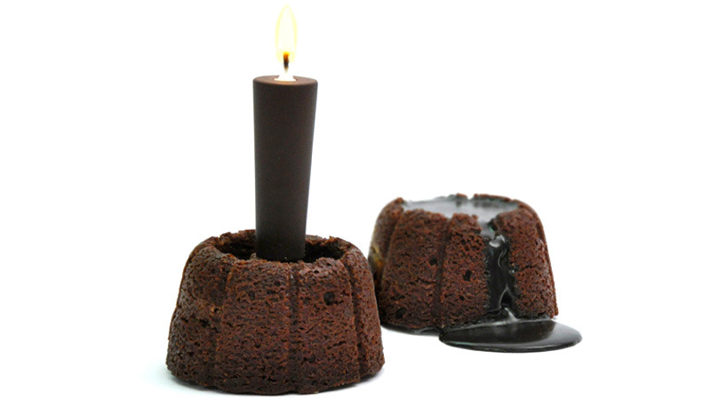 samaralex:  This chocolate candle turns into the warm gooey core….I'm sorry, I need to be alone for a minute.