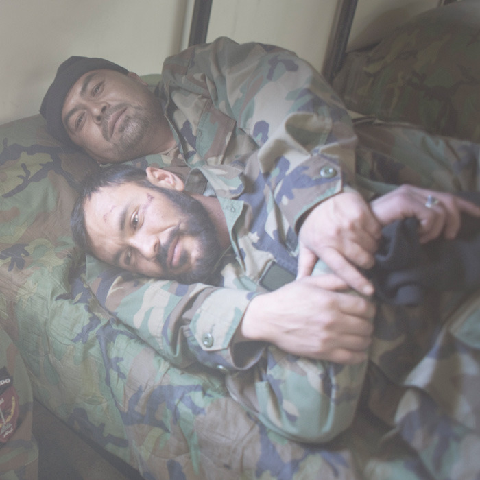Afghan National Army soldiers in Helmand. Photo: Pieter ten Hoopen The war in Afghanistan is not over. Help us tell the story. Fund our Kickstarter.