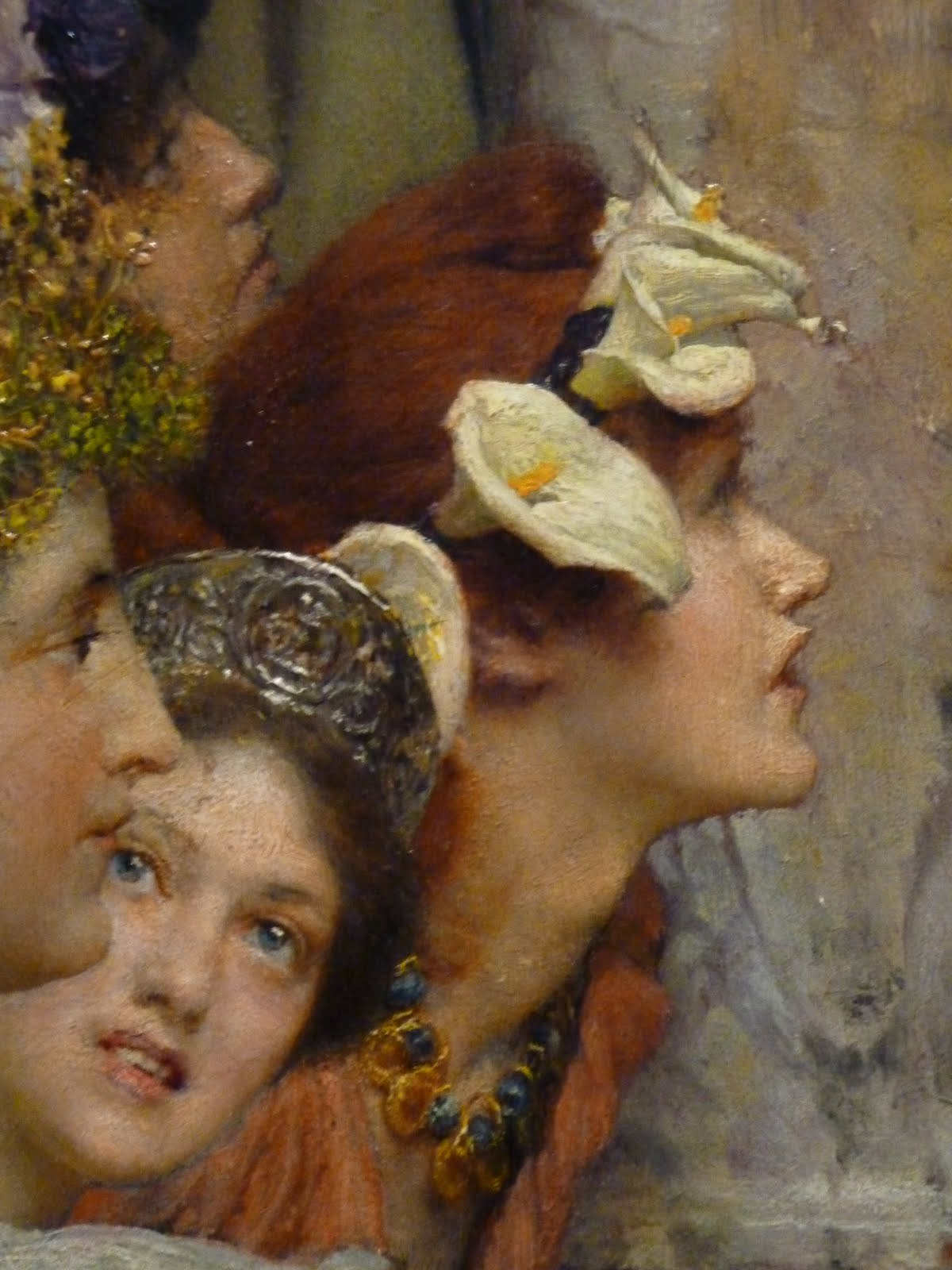 """Spring"", detail - Sir Lawrence Alma-Tadema"